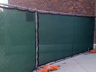 Construction Windscreen Windscreen Midwest Cover We