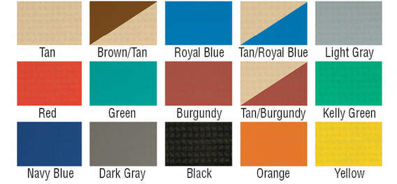 gym floor covers colors