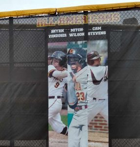 Custom Printed Outfield Fence Screen