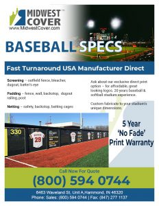 Get 2020 Updated Baseball Product Specs