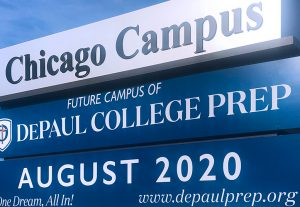 New project: DePaul College Prep – Chicago