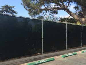 Maximum Privacy Permanent Fence Screen