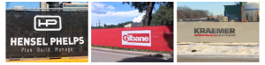 Fence Screen with Your Company Logo